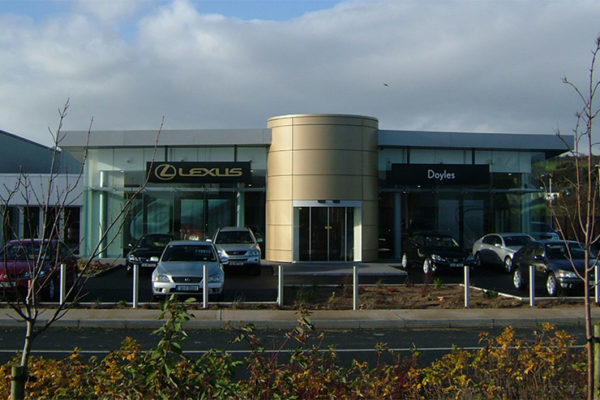 odriscoll lynn architects lexus garage wexford